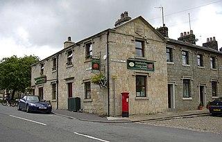Hoddlesden village in United Kingdom
