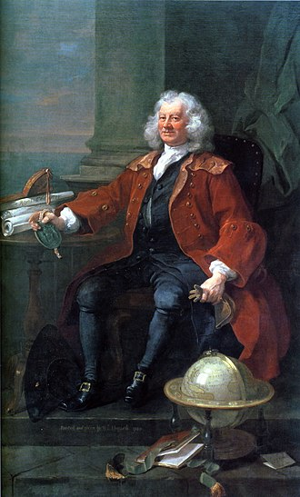 Foundling Hospital - William Hogarth's portrait of Thomas Coram.
