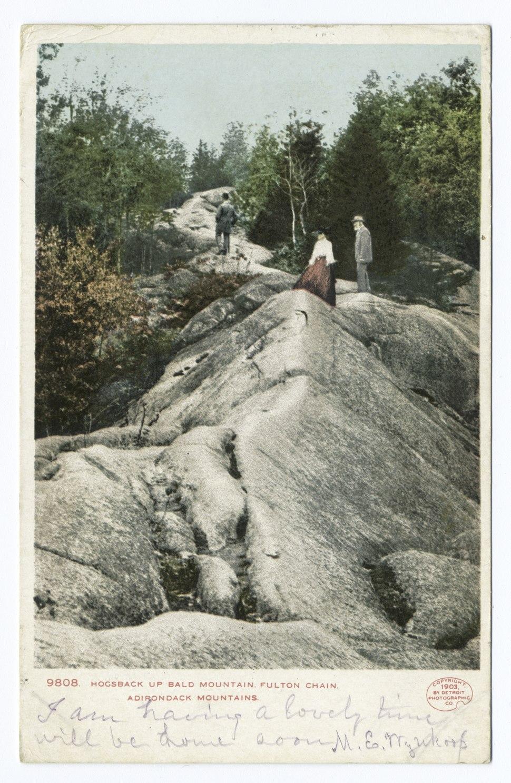 Hogsback up Bald Mountain, Fulton Chain , N. Y (NYPL b12647398-68524).tiff