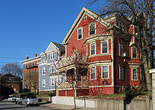 Smith Hill, Providence, Rhode Island United States historic place