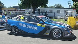 2014 Dunlop V8 Supercar Series - Garry Jacobson (Holden VE Commodore) placed 11th in the series
