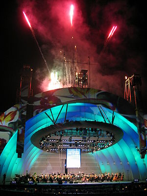 Hollywood Bowl - Hollywood Bowl re-opening night, 2005