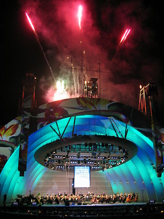 Hollywood Bowl - Hollywood Bowl re-opening night, 2005