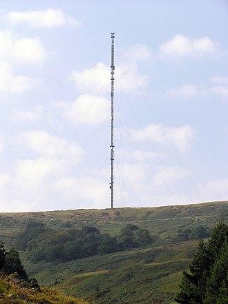 Holme, West Yorkshire - Image: Holme Moss Transmission Tower