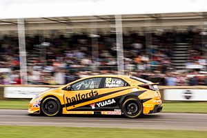 2016 British Touring Car Championship - Gordon Shedden's 2016 Championship Winning BTCC Honda Civic Type R