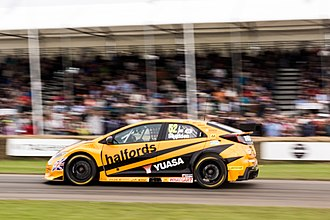 2016 British Touring Car Championship - Gordon Shedden's 2016 Championship Winning BTCC Honda Civic Type R