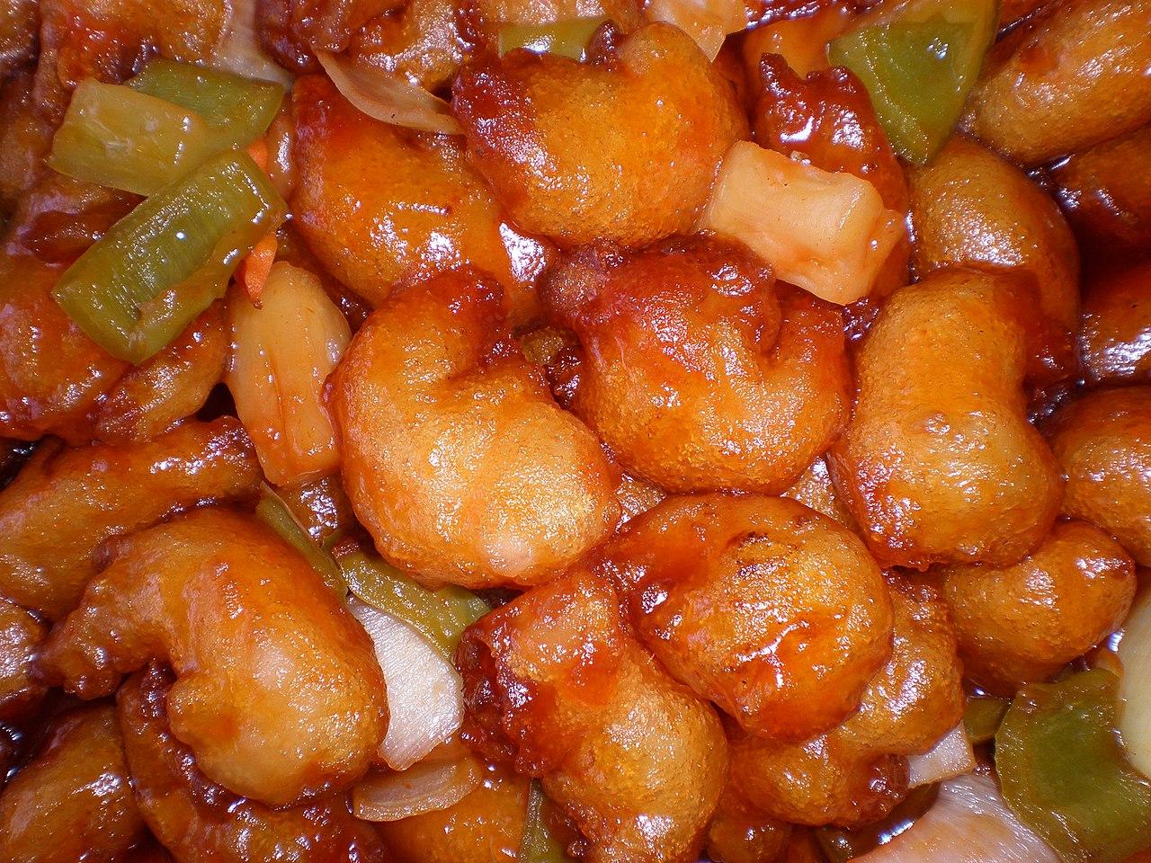 File:Honey-glazed prawns 3.JPG - Wikimedia Commons