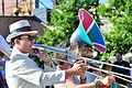 Honk Fest West 2015, Georgetown, Seattle - Carnival Band 25 (19032767296).jpg