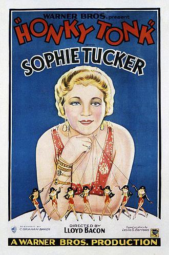 Honky Tonk (1929 film) - theatrical film poster
