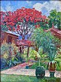 Honolulu Garden, Ainahau, Waikiki by Theodore Wores, 1902.jpg