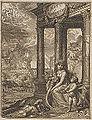Hoogstraten - 1678 - Inleyding tot de hooge schoole der schilderkonst - UB Radboud Uni Nijmegen - 066106893 04 Erato de Minnesangster.jpg