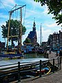 Hoorn - Veermanskade - View South on Hoofdtoren 1532.jpg