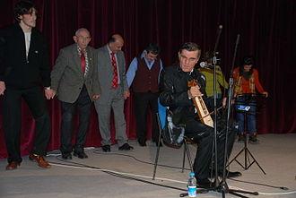 Horon (dance) - Horon with kemenche virtuoso Yusuf Cemal Keskin, Turkey 2007