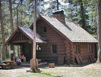National Register of Historic Places listings in Lassen Volcanic National Park - Image: Horseshoe Lake Fireguard Station