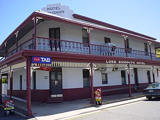 Exeter, South Australia - Hotel Lord Exmouth, in Exeter