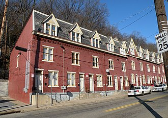 Perry South (Pittsburgh) - Image: Housesat 2501 2531Charles Street