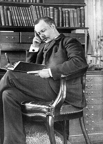 Houston Stewart Chamberlain - Houston Stewart Chamberlain in 1895