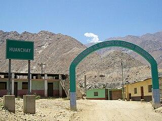 Cochas District, Ocros District in Ancash, Peru