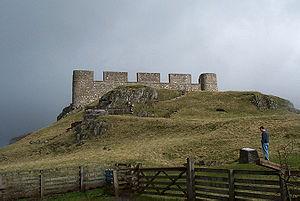 Hume, Scottish Borders - Hume Castle in Hume, Scotland