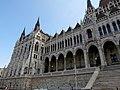 Hungarian Parliament, Danube side detail, 2013 Budapest (393) (13227556323).jpg
