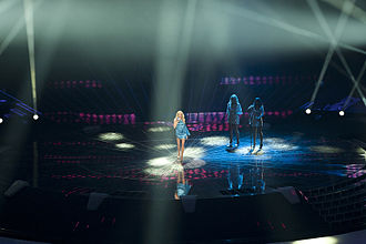 Hungary in the Eurovision Song Contest - Image: Hungary at ESC 2011
