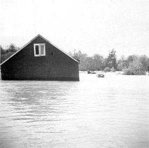 Effects of Hurricane Hazel in Canada - Image: Hurricane Hazel house 1
