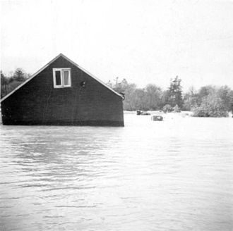 Effects of Hurricane Hazel in Canada - Image: Hurricane Hazel house 1