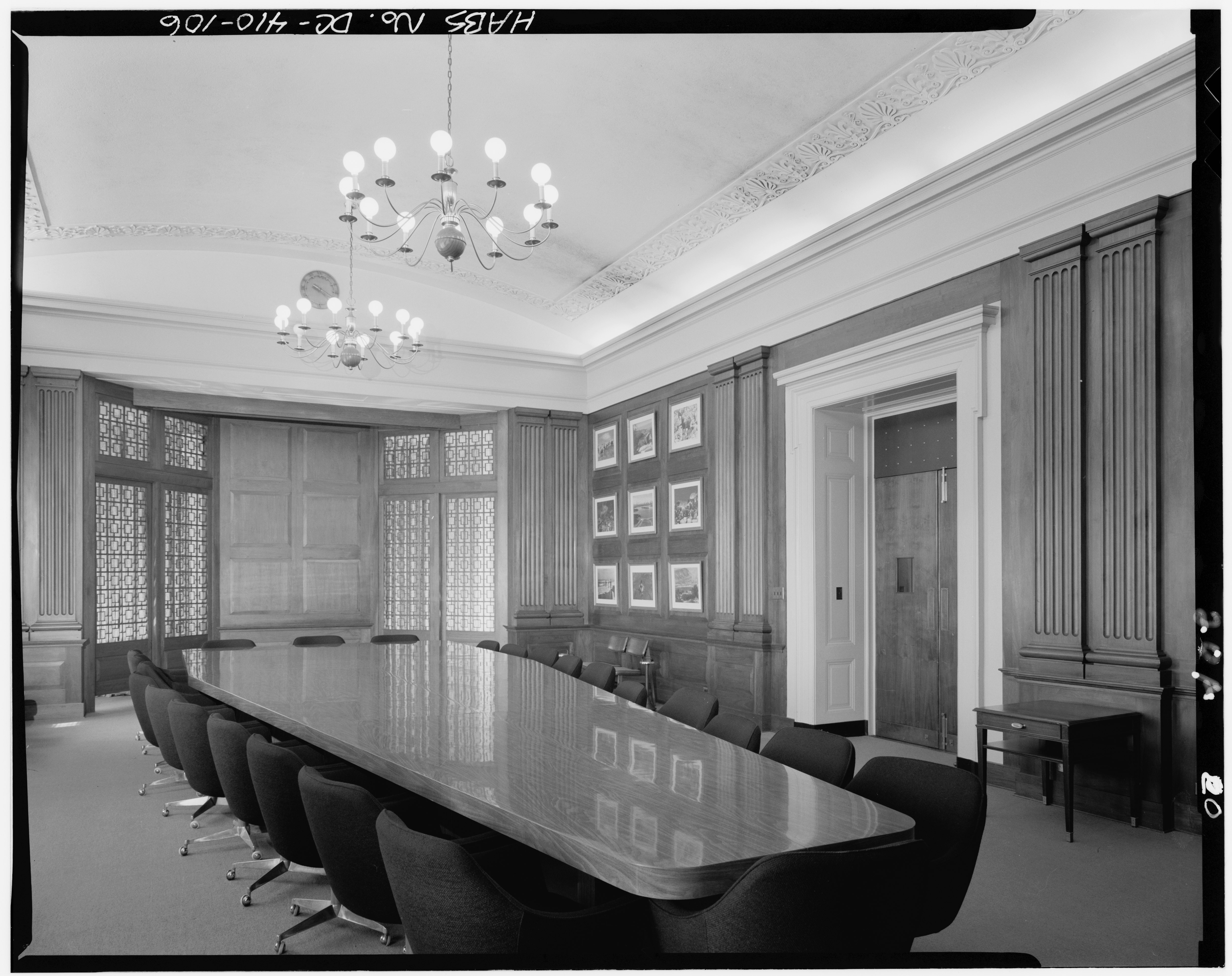 Conference Room Wood Chairs