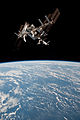 ISS and Endeavour seen from the Soyuz TMA-20 spacecraft 17.jpg