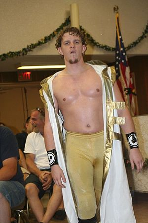Icarus (wrestler) - Icarus in June 2008