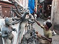 Idol making at Kumortuli17.jpg