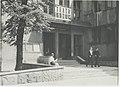 Ignacy Płażewski, Wejście do Teatru Rozmaitości przy ul. Moniuszki 4a w Łodzi, I-4715-8.jpg