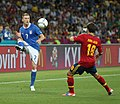 Ignazio Abate and Jordi Alba Euro 2012 final.JPG