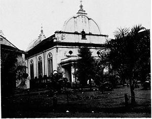 Christ Church (Melaka) - Christ Church in 1905.