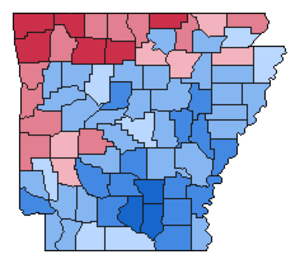 United States presidential election in Arkansas, 1960