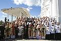 Ināra Mūrniece piedalās Vissvētākās Jaunavas Marijas debesīs uzņemšanas svētkos Aglonā (28900805732).jpg
