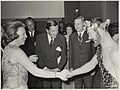 In het kader van het Landjuweel voor amateurtoneel bezoeken prinses Beatrix en prins Claus de schouwburg. NL-HlmNHA 54012018.JPG