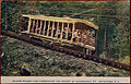 Incline railway car commencing the ascent of Uncanoonuc Mountain postcard.jpg