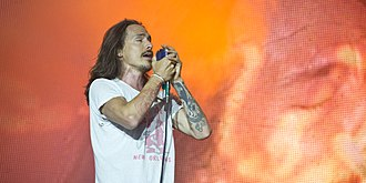 Incubus (band) - Brandon Boyd live in 2012.