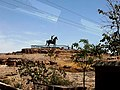 Inde Rajasthan Jodhpur Fort Statue Equestre 26022015 - panoramio.jpg