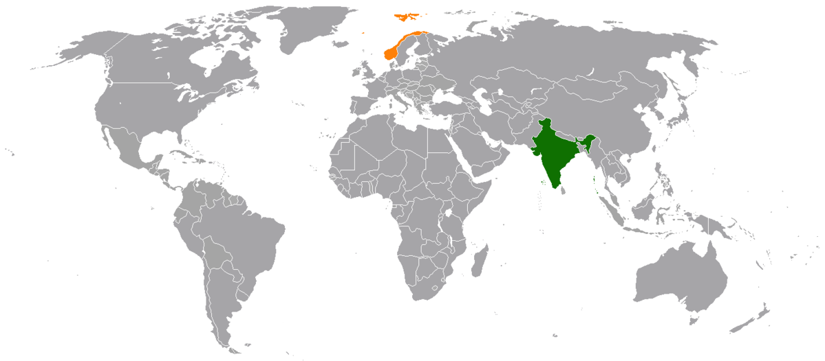 Indianorway Relations Wikipedia
