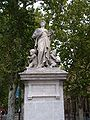 Industries & decorative arts statue, Cours Mirabeau.JPG