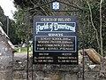 Information board at Desertcreat Church of Ireland - geograph.org.uk - 1837085.jpg