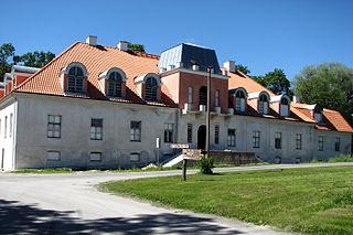 Ingliste Village in Rapla County, Estonia