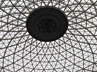 Mitchell Park Horticultural Conservatory - Inside the dome