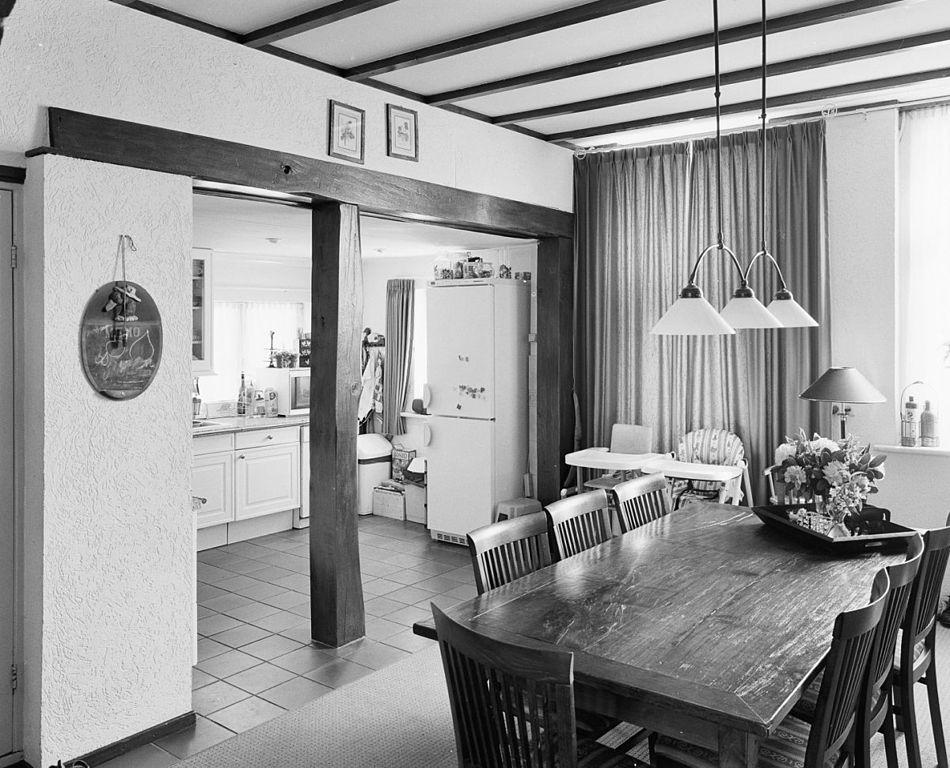 File:Int. achterhuis, gedeelte eethoek en keuken - Vaassen ...