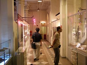National History Museum (Malaysia) - Interior of National History Museum of Kuala Lumpur.