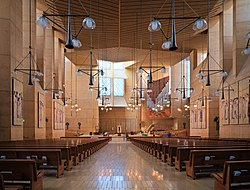 Interior of Cathedral of Our Lady of the Angels dllu.jpg