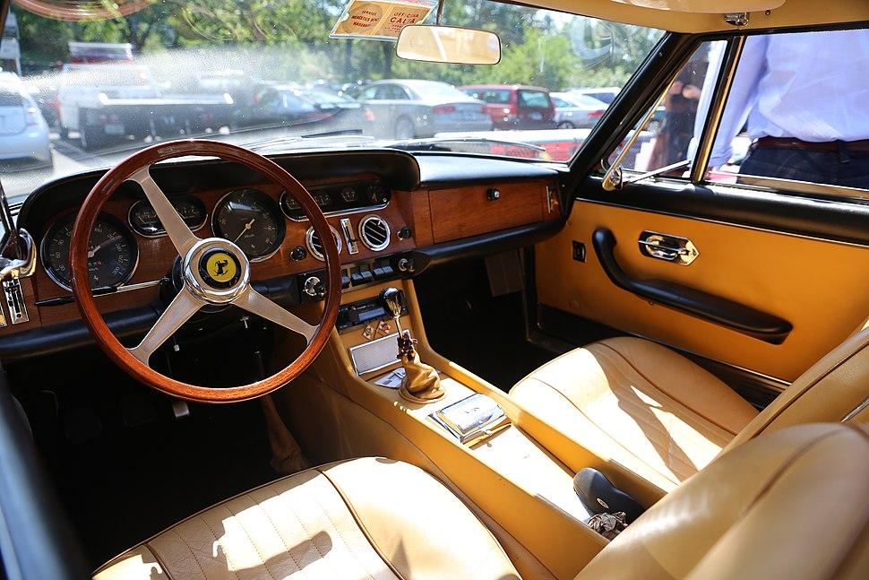 Interior of Ferrari 330 GT 2+2 (serie II)
