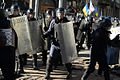 Interior troops attack protesters as the clashes develop in Kyiv, Ukraine. Events of February 18, 2014.jpg